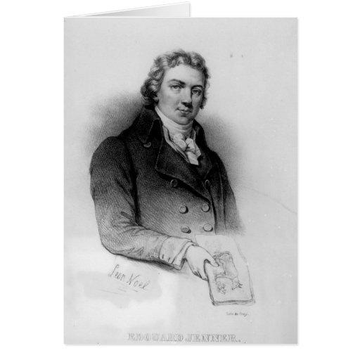 Portrait of Edward Jenner Greeting Card
