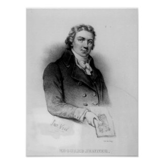 Portrait of Edward Jenner Poster