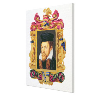 Portrait of Edward Stanley (1508-72) 3rd Earl of D Gallery Wrap Canvas