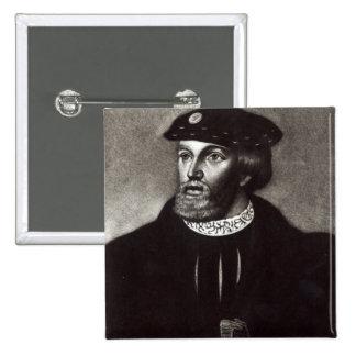 Portrait of Edward, Third Duke of Buckingham Button