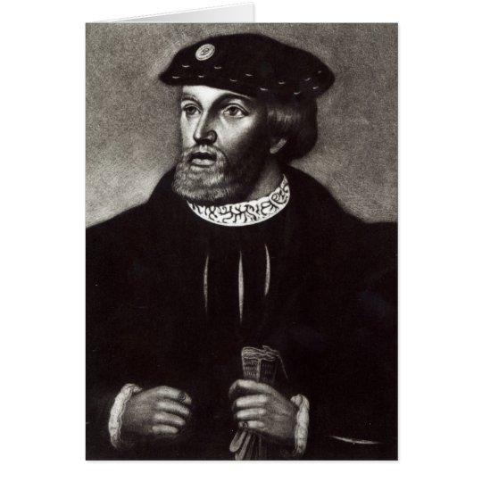 Portrait of Edward, Third Duke of Buckingham Card