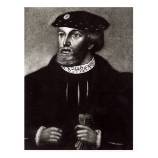 Portrait of Edward, Third Duke of Buckingham Postcard