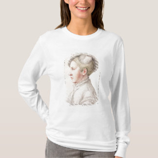 Portrait of Edward VI (1537-53) engraved by France T-Shirt