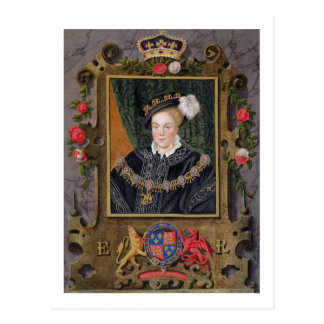 Portrait of Edward VI (1537-53) King of England, a Postcard