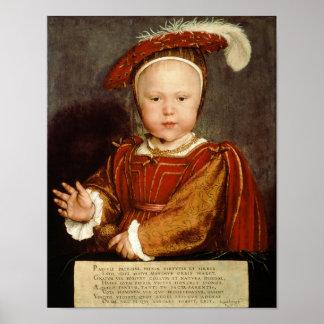 Portrait of Edward VI as a child, c.1538 Poster