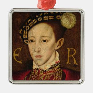 Portrait of Edward VI Christmas Ornaments