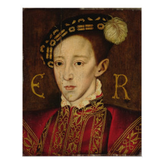 Portrait of Edward VI Print