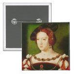 Portrait of Eleanor of Hapsbourg Pinback Button