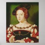 Portrait of Eleanor of Hapsbourg Poster