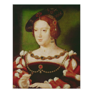 Portrait of Eleanor of Hapsbourg Poster
