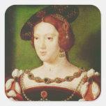 Portrait of Eleanor of Hapsbourg Square Sticker