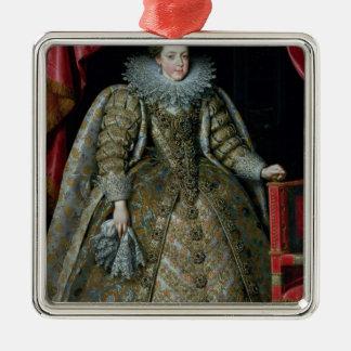 Portrait of Elisabeth of France  1615 Metal Ornament