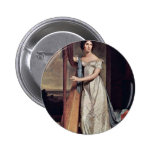 Portrait Of Eliza Ridgely (The Lady With The Harp) Pin