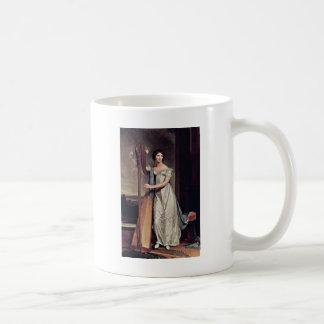 Portrait Of Eliza Ridgely (The Lady With The Harp) Classic White Coffee Mug