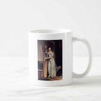 Portrait Of Eliza Ridgely (The Lady With The Harp) Coffee Mug