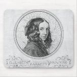 Portrait of Elizabeth Barrett Browning Mouse Pad
