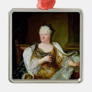 Portrait of Elizabeth Charlotte of Bavaria Metal Ornament