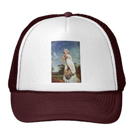 Portrait Of Elizabeth Farren Later Countess Trucker Hat