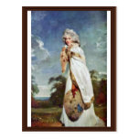 Portrait Of Elizabeth Farren Later Countess Postcard