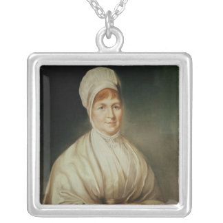 Portrait of Elizabeth Fry Silver Plated Necklace