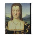 Portrait of Elizabeth Gonzaga, c.1504 (oil on pane iPad Cases