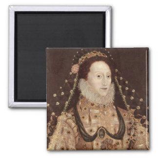 Portrait of Elizabeth I c 1575-80 Refrigerator Magnet