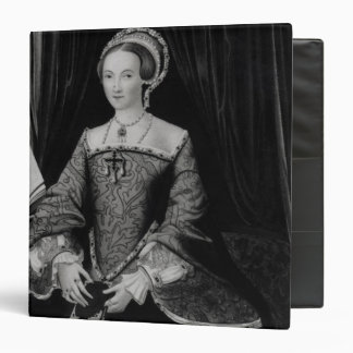 Portrait of Elizabeth I when Princess  c.1546 3 Ring Binder