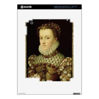 Portrait of Elizabeth of Austria (1554-92) Queen o Skins For iPad 3