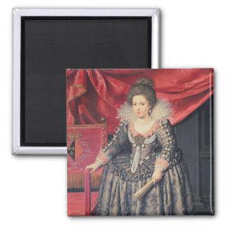 Portrait of Elizabeth of France (1602-44) daughter Fridge Magnets