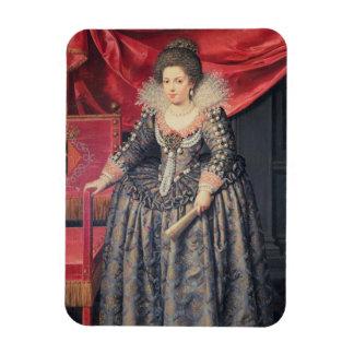 Portrait of Elizabeth of France (1602-44) daughter Vinyl Magnet