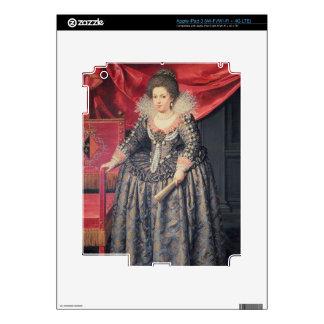 Portrait of Elizabeth of France (1602-44) daughter Decals For iPad 3