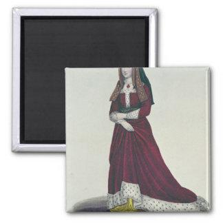 Portrait of Elizabeth of York, 1841 Magnet
