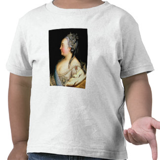 Portrait of Elizabeth Petrovna  Empress Tshirts