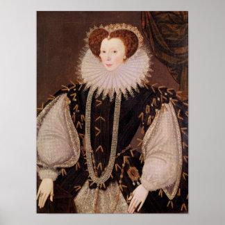 Portrait of Elizabeth Sydenham Poster