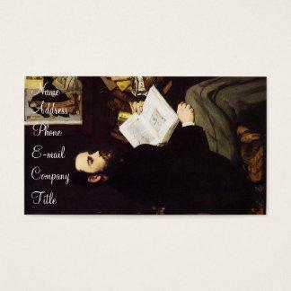 'Portrait of Emile Zola' Business Card