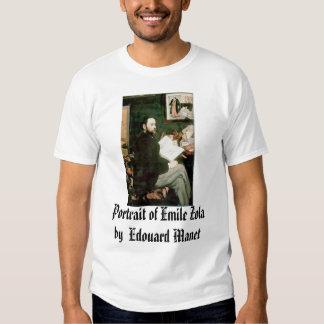 Portrait of Emile Zola Edouard Manet, Portrai... T Shirt