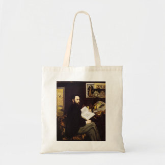 'Portrait of Emile Zola' Tote Bag