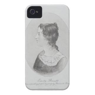 Portrait of Emily Bronte (1818-48) engraved by Wal iPhone 4 Case