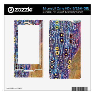 Portrait of Emily Floge by Gustav Klimt Decal For The Zune HD