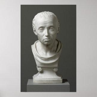 Portrait of Emmanuel Kant , 1801 Poster