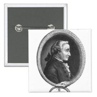 Portrait of Emmanuel Kant 2 Pinback Button