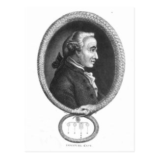 Portrait of Emmanuel Kant 2 Postcard