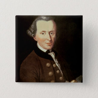 Portrait of Emmanuel Kant Button