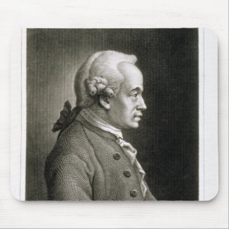 Portrait of Emmanuel Kant , German philosopher Mouse Pad