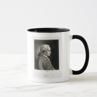 Portrait of Emmanuel Kant , German philosopher Mug