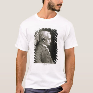 Portrait of Emmanuel Kant , German philosopher T-Shirt
