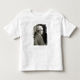 Portrait of Emmanuel Kant , German philosopher Toddler T-shirt