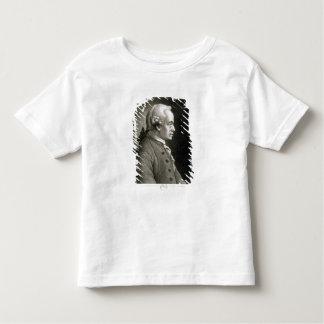 Portrait of Emmanuel Kant , German philosopher Toddler T-shirt
