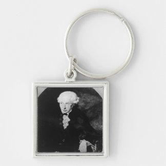 Portrait of Emmanuel Kant Keychain