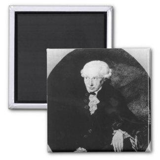 Portrait of Emmanuel Kant Magnet
